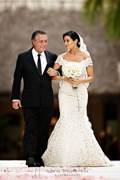 Lovella bride Courtney sparkled in @Ines Di Santo