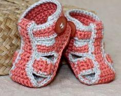 Crochet PATTERN  Summer Sandals