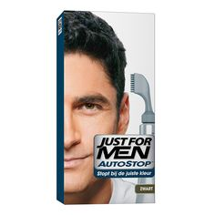 Just For Men Auto Stop Black - https://www.transfashions.com/en/beauty-health/hair-care/hair-colors/just-for-men.html Just For Men Auto Stop Black #Haircolor is the perfect way to get rid of gray #hair. Easy way to get rid of all your gray hair. Simple, self-timing formula that stops at the target color. No mixing, no mess....