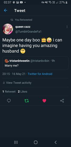 Twitter Tweets, Maybe One Day, Best Husband, Marry Me