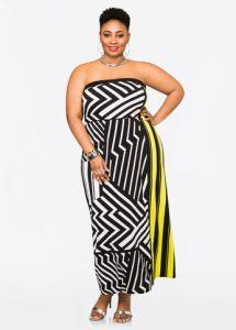 84cbcfedcdab Zig Zags and Stripes Tube Dress