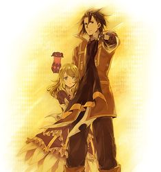 Alvin and Elize in Tales of Xillia.