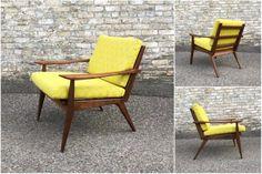 Danish Style Lounge Chair – Walnut