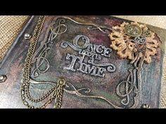 Steampunk Book Cover Tutorial
