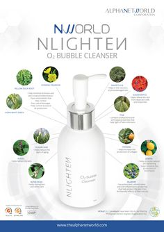 NNLIGHTEN BUBBLE CLEANSER helps hydrate and rejuvenate the skin. This amazing cleanser is specifically formulated with exceptional ingredients to help relieve the skin from dead skin cells, sebum, impurities, and any excess debris. Nlighten Products, Evening Primrose, Eye Gel, Dead Skin, Natural Skin, Whitening, Cleanser, Bubbles, Direct Selling