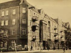 Wrzesień 1968. Ul. Górna Wilda od numeru 91 do 95. Fot. Z archiwum Miejskiego Konserwatora Zabytków #wilda #poznan