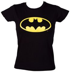 Ladies Classic Batman Logo T-Shirt