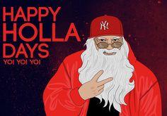 Hip Hop Santa Claus