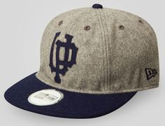 UPPER PLAYGROUND x NEW ERA「Polo GroundS IV」Fitted Baseball Cap