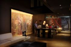 The Sofitel So Bangkok hotel  unveiled a new executive lounge  designed by legendary French couturier Christian Lacroix.  The interiors of the hotel were designed by Lacroix in collaboration with a  team of six Thai architects, drawing inspiration from the Asian philosophical  system of the five elements of water, earth, wood, metal and fire.