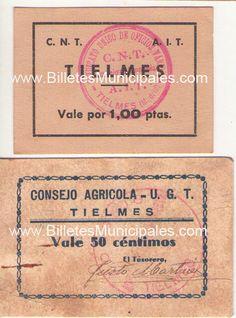 Tielmes Consejo Agrícola U.G.T. Cover Pages, Tips