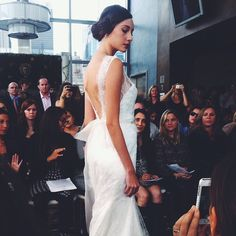 Wedding dress / New York Bridal Fashion Week