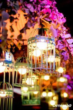 Iluminação de mesa de bolo. Hugo♡Laysa.  Studio Decorato
