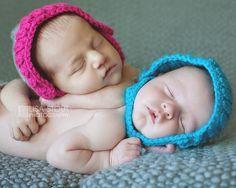 Photographer Favorites » Lisa Stout Photography  newborn boy girl twin cousin