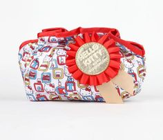Hello Kitty 40th Anniversary Cosmetic Pouch: 1974