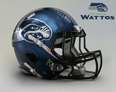 Star Wars NFL Teams Seattle Wattos