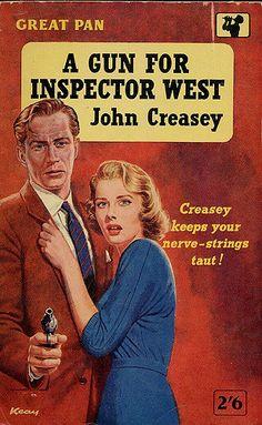 https://flic.kr/p/4Y4Ad4 | A Gun for Inspector West | John Creasey - A Gun for Inspector West, Great Pan G179, 1958