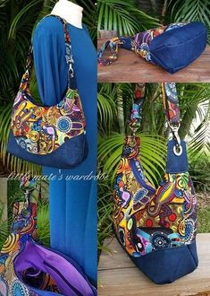 Pattern Description: The Marichel Hobo Shoulder bag was designed with intention along with purpose. Marichel offers a timeless slouchy hobo feel with a refined curvy appeal that offers a contoured top and an adjustable shoulder strap that allows it to rest comfortably on your s
