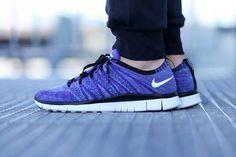 """Nike Free Flyknit NSW """"Court Purple"""""""