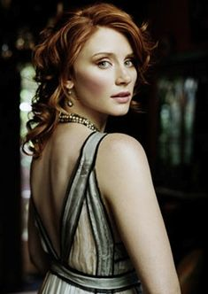 Bryce Dallas Howard    Seriously one of the most beautiful women in the world! I love her hair