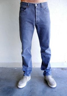 Charcoal Relaxed Fit Levi's Jeans $68.00