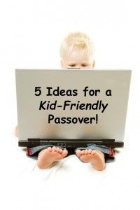 5 Fun Ideas for a Kid-Friendly- matzo house!  #Passover #Seder