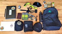 """Loadout: Work & Play GORUCK Pack. Here's a great submission from Drew """"This is My EDC….set for work and day to day."""""""