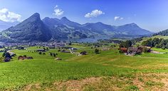 Photograph - Schwyz And Zurich Canton View, Switzerland by Elena Duvernay Places In Switzerland, Camping Car, Famous Places, Zurich, Art For Sale, Travel Photos, Fine Art America, Wall Art, Mountains