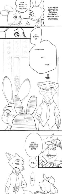 Zootopia News Network: Comic: Hopps Apartment (Original by nammy) (Translated by the ZNN Translation Team)