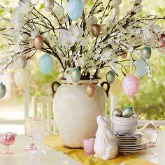 Easter tablescape ... delightful!