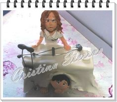 OOAK Handmade Cake topper Physiotherapist by RUSTIKOcakeDecoratio, €75.00