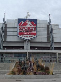Sports Authority Field at Mile High home of the NFL's Denver Broncos.