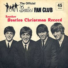 Official #Beatles Christmas record sleeve. what?  didn't know they made one.