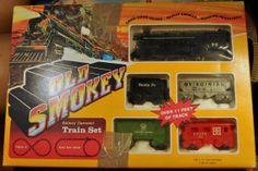 Old Smokey Train Set Battery Operated SoundSmokesand by TumptOver, $10.00