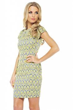 The Styling Up stylists recommend: Ax Paris: Colour Clash Paisley Dress
