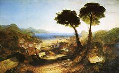 Joseph Mallord William Turner, The Bay of Baiae, with Apollo and the Sibyl, c. 1823, huile sur toile, Taft Museum of Art, Cincinnati
