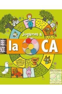 JUGAMOS A LA OCA.(+6 FICHAS) 5-10 AÑOS. - 9788428536462 - www.libreriarioebro.es