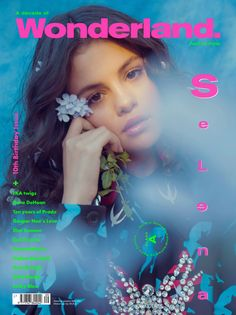 Selena Gomez graces the cover of Wonderland Magazine photographed by Petra Collins