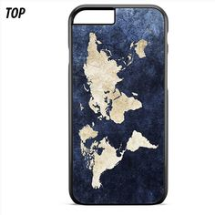 World Map Color For Iphone 6 | 6S Plus Case