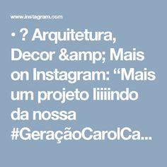 """• 🎨 Arquitetura, Decor & Mais on Instagram: """"Mais um projeto liiiindo da nossa #GeraçãoCarolCantelli 😃💕 Um quarto fofíneooo do jeito que uma princesãn merece! 💕👸🏼 Autoria…"""""""