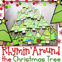 Rhyming Around the Christmas Tree Puzzles
