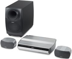 Sony DAVX1 Platinum DVD Dream Home Theater System Discontinued by Manufacturer -- Learn more by visiting the image link.