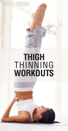 thigh thinning workouts #fitness