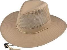 e716e754eb7 Henschel Hats 5220 Crushable Solarweave Aussie Breezer Is MADE IN THE USA.  With A Wide Brim
