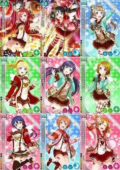 Love Live s Valentine Set Vol1 School Idol Pinterest
