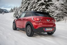 Show your best side. #MINI #Paceman #CooperD #ALL4