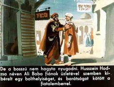 Ali Baba és a negyven rabló Baseball Cards, Sports, Hs Sports, Sport