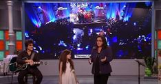 "Angelina Jordan sings ""Fly Me To The Moon"" perfectly on a talk show New Earbuds, Angelina Jordan, Jordans, Singing, The Incredibles, Moon, Concert, The Moon, Recital"