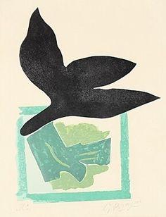 Gravure sur bois - Georges Braque -