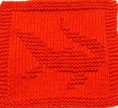 Knitting Cloth Pattern  ALLIGATOR  PDF by ezcareknits on Etsy, $2.85